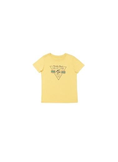 Lee Cooper Erkek Çocuk Sarı T-Shirt Sarı